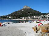 Camps Bay on a weekend