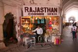 Shops inside the Red Fort