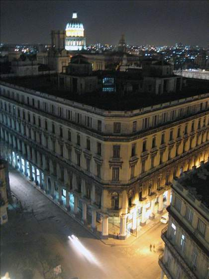 Habana at night