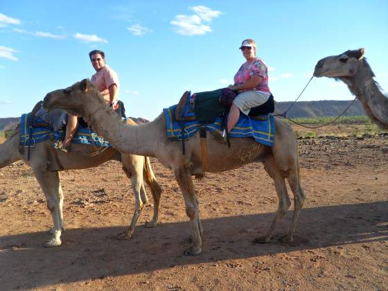 Out back in the Outback via Camel